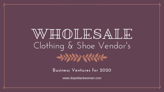 Wholesale Clothing & ShoeVendor's