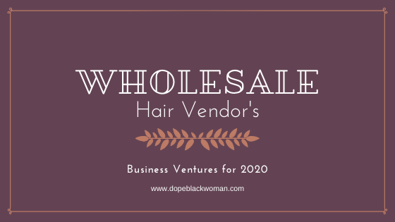 Six Wholesale Hair Vendors